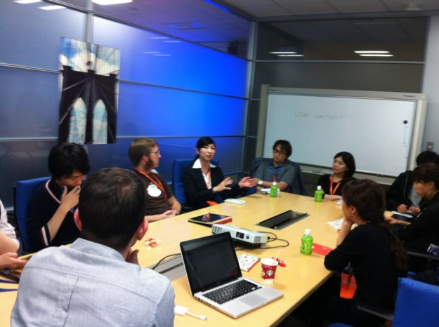 Photo of our Unconference session on Lean Content, lead by Chris and Tomomi.