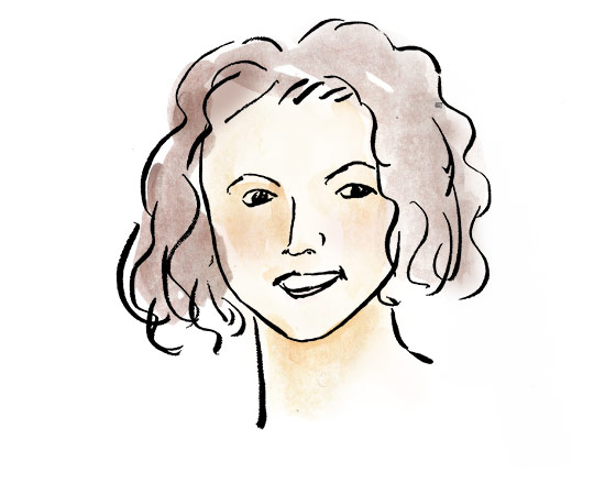 Drawing of Judith Moskowitz